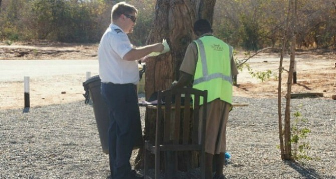 Askari_Africa_Luangwa Airport customs