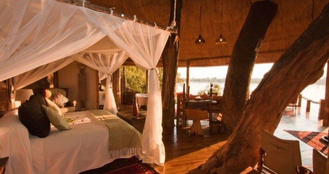 Photo courtesy Tree House, Tongabezi Lodge, Zambia
