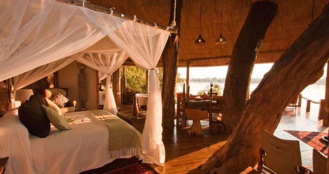 Photo courtesy Tree House, Tongabezi Lodge, Zambia
