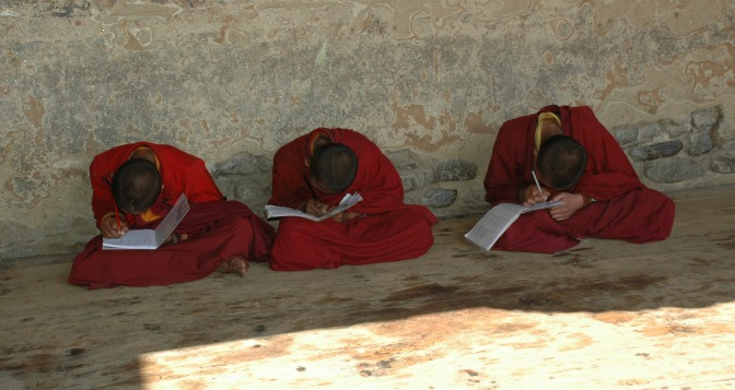 AskariTravel_Monks in Bhutan