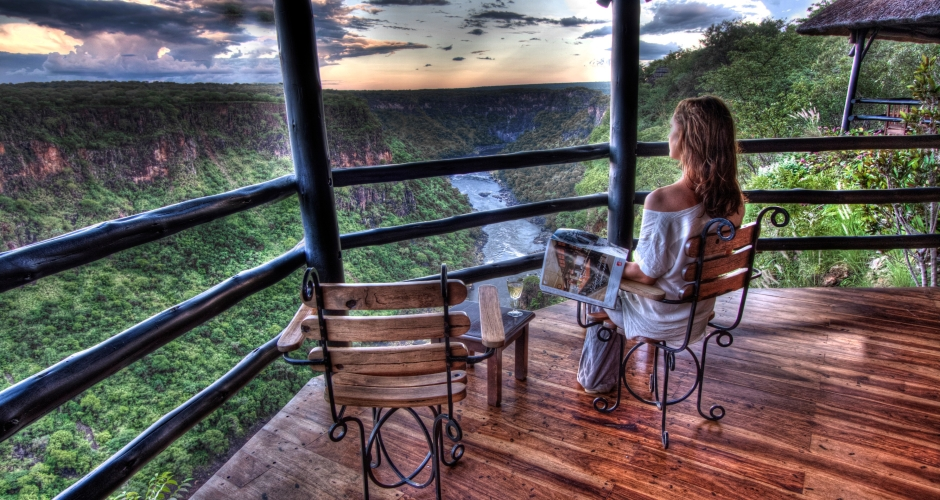 9 – Imvelo Safari Lodges – Gorges Lodge – Kick back and enjoy a sundowner with a view