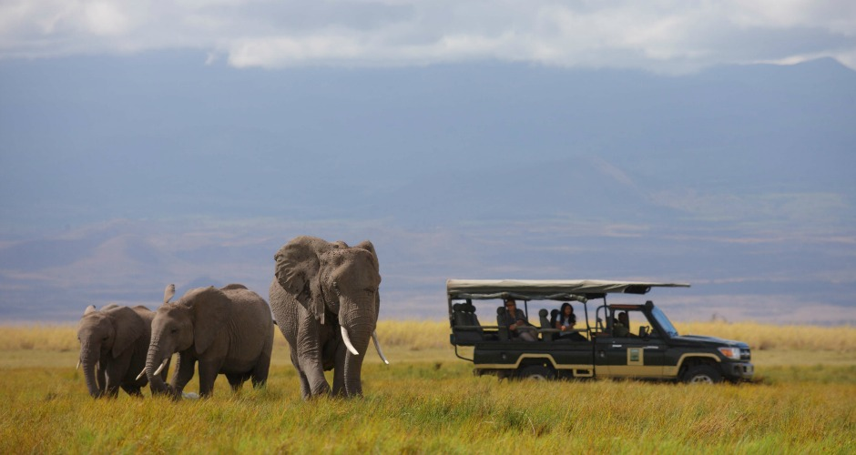 Photo courtesy of Tortilis Camp – Game Drive – Elephants